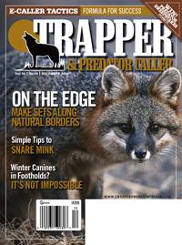 December 2010 Trapper & Predator Caller magazine