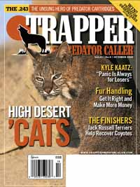 October 2010 issue of Trapper & Predator Caller